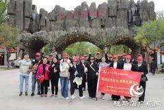 豫皖六地市媒体走进天中 感受天中文化风光